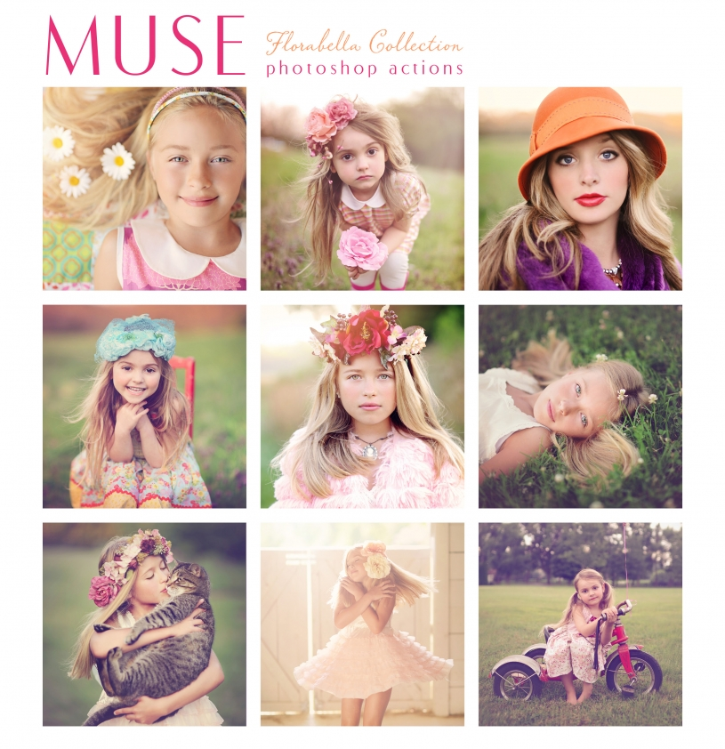 Florabella Muse Photoshop Actions Promo Pp