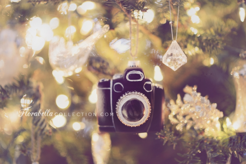 Vintage Camera Ornament Christmas Tree Decor Florabella