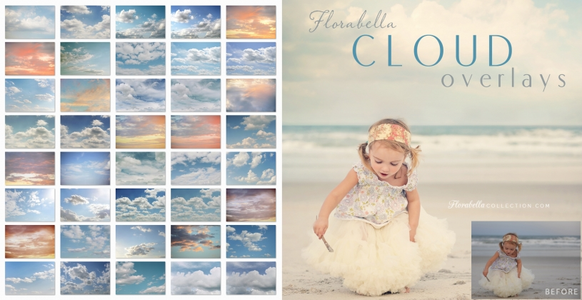 Florabella Cloud overlays and video tutorial review Free with Florabella Trinity Actions purchase